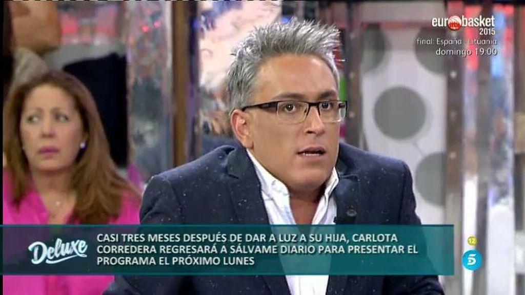 """Kiko Hernández: """"En Sálvame no hay galones e. Merezco el mismo respeto que Terelu"""""""