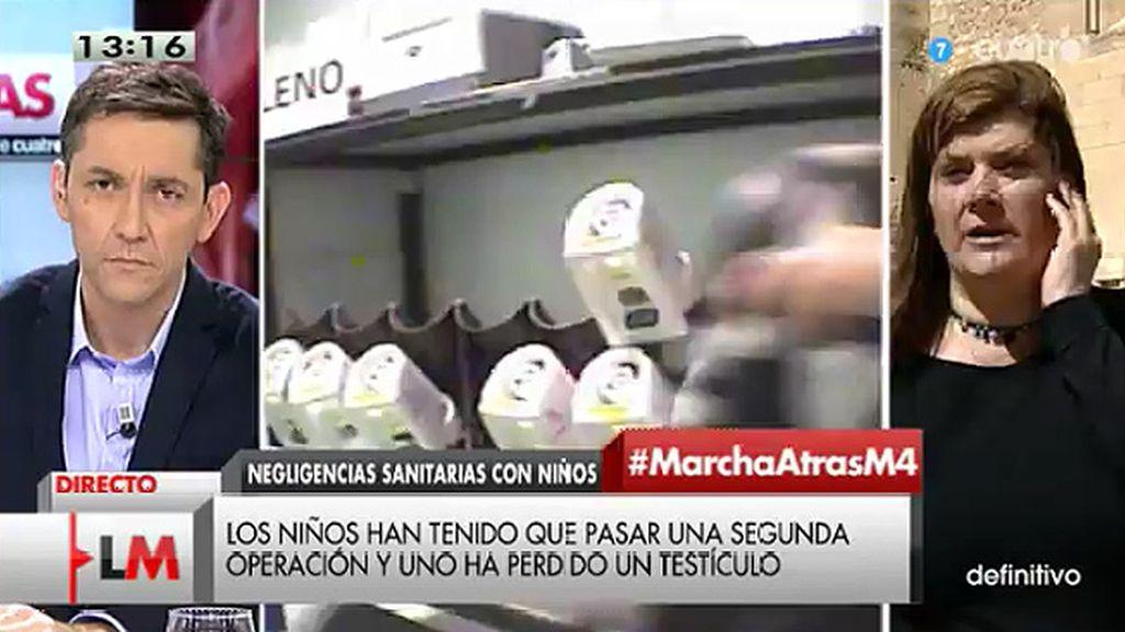 """Teresa Arcas: """"Nuestros hijos tienen que volver a ser operados y hay niños con secuelas de por vida"""""""