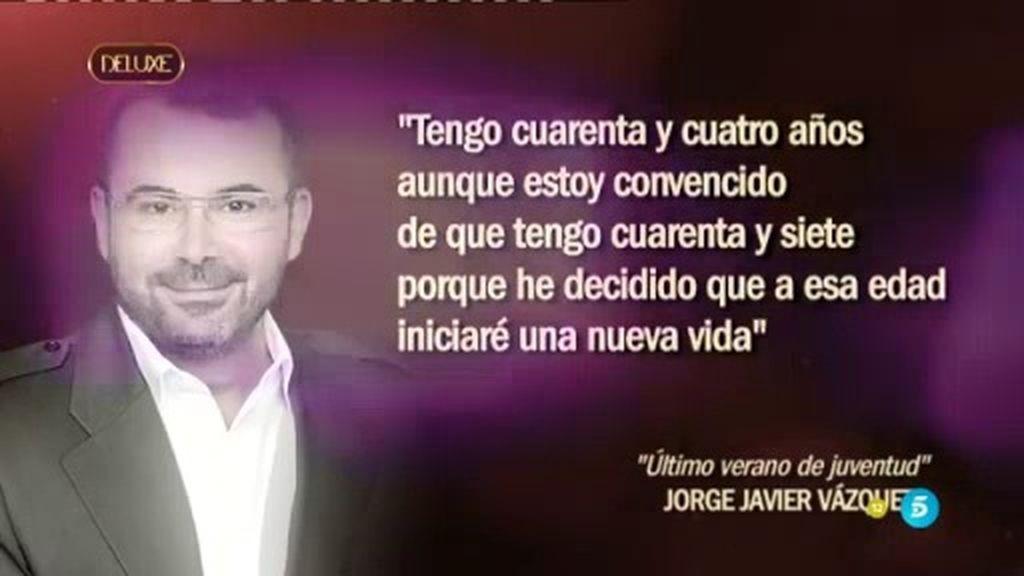 Jorge Javier ya tiene nueva novela... ¡y la estrena el 22 de septiembre!