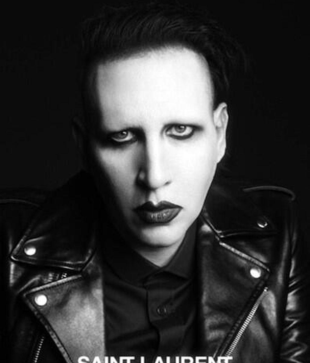 Marilyn Manson, nuevo rostro de Saint Laurent