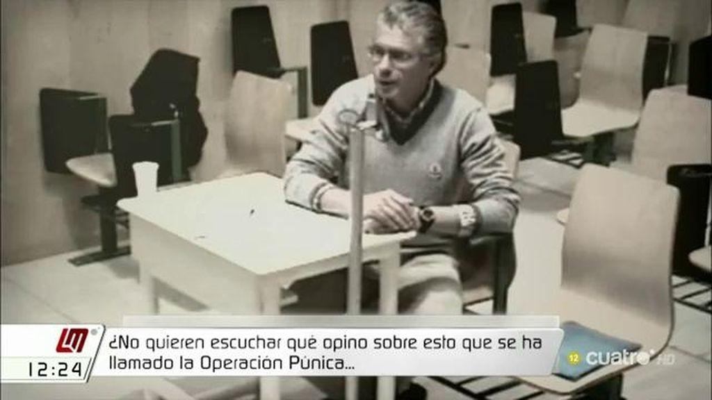 """Francisco Granados: """"Jamás he metido la mano en la caja"""""""