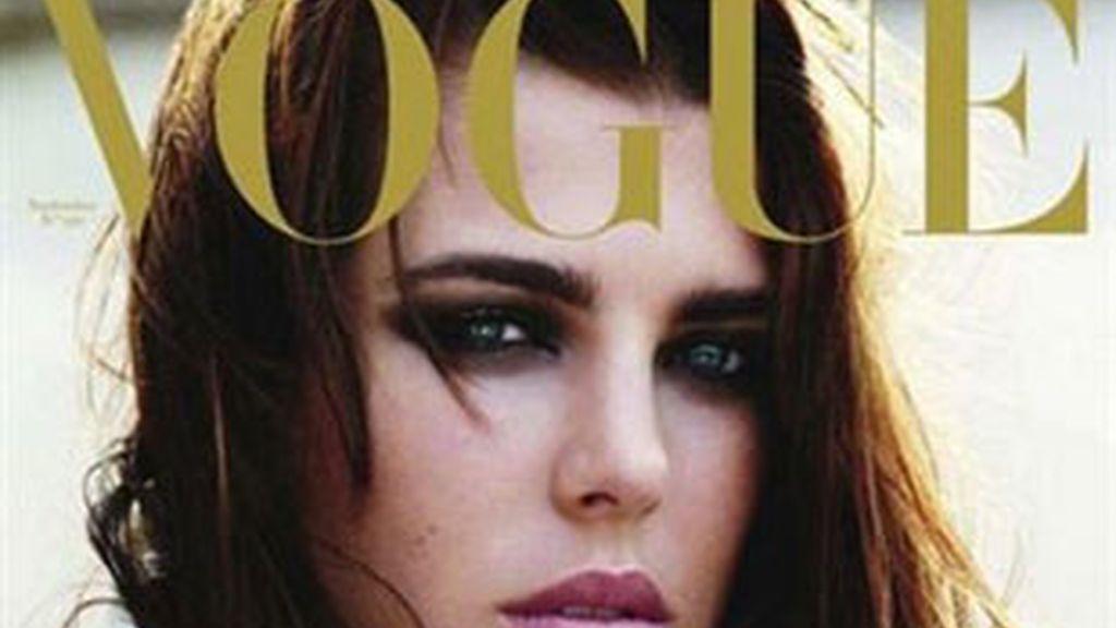 Carlota Casiraghi, portada de Vogue. Foto: Vogue