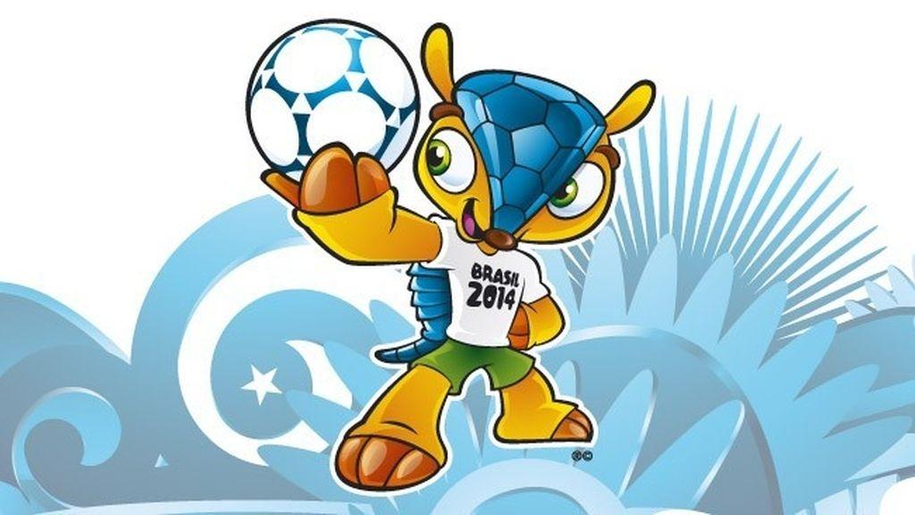 La FIFA presenta un armadillo como mascota para el Mundial 2014