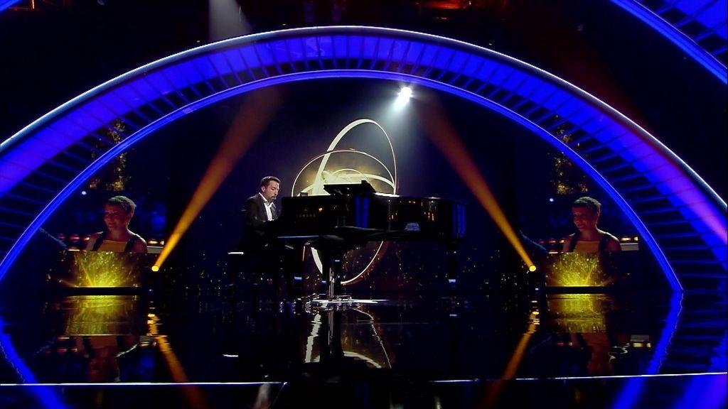 La actuación completa de Alberto de Paz, el 'Spotify' al piano de 'Got Talent'