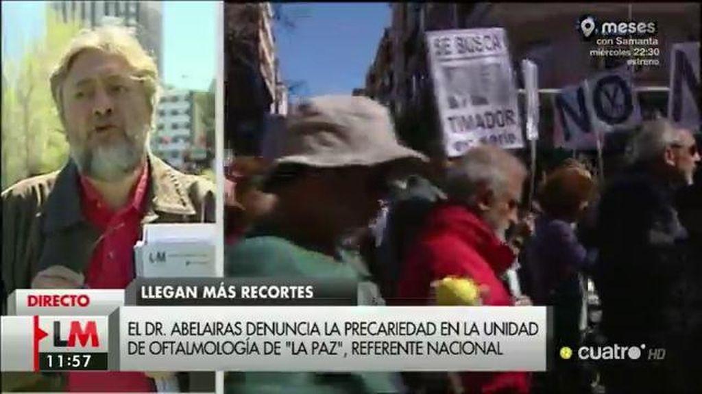 """José Abelairas, jefe médico: """"He sido cesado y sometido casi a una caza de brujas"""""""