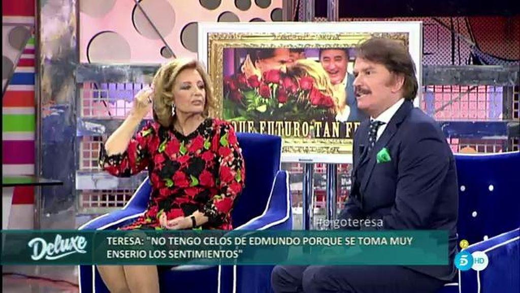 """Mª Teresa, sobre Edmundo: """"Es romántico pero le cuesta verbalizar los sentimientos"""""""