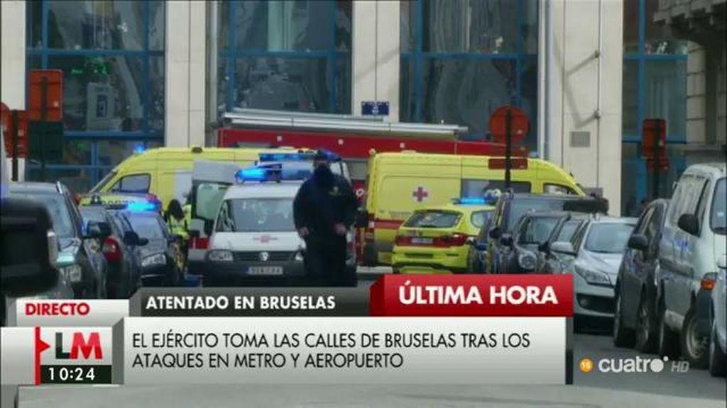 La fiscalía belga confirma un atentado terrorista suicida en el aeropuerto
