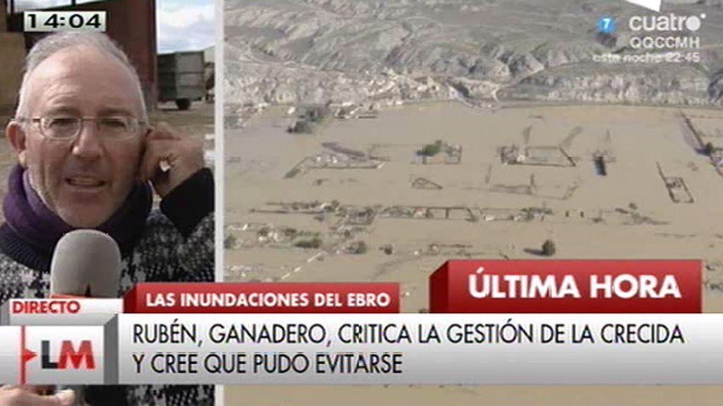 """Rubén: """"Se sientan en un sillón para cobrar y para dejarnos a nosotros en calzoncillos"""""""