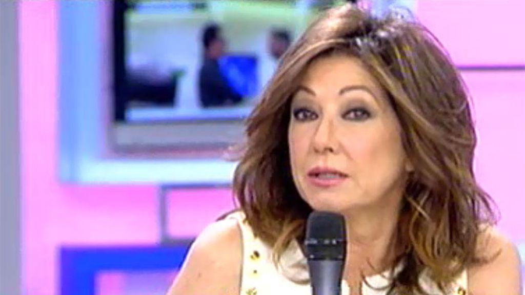 Ana Rosa regresa de vacaciones por la visita de los Reyes a Mediaset