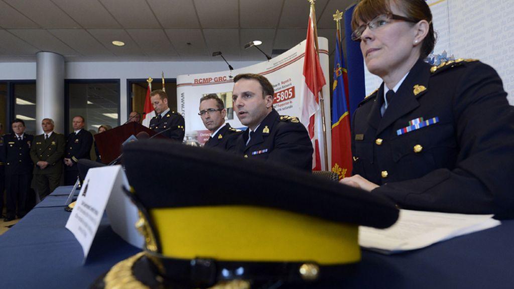 Rueda de prensa en Canadá por la amenaza terrorista contra el tren de Toronto