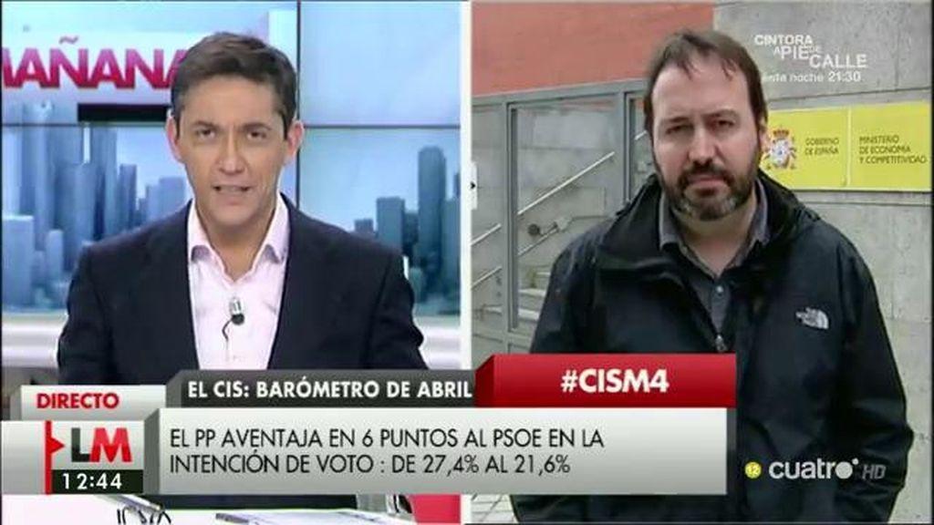 """J. Fdez. Albertos, politólogo: """"Hay estancamiento de las perspectivas electorales de todos los partidos"""""""