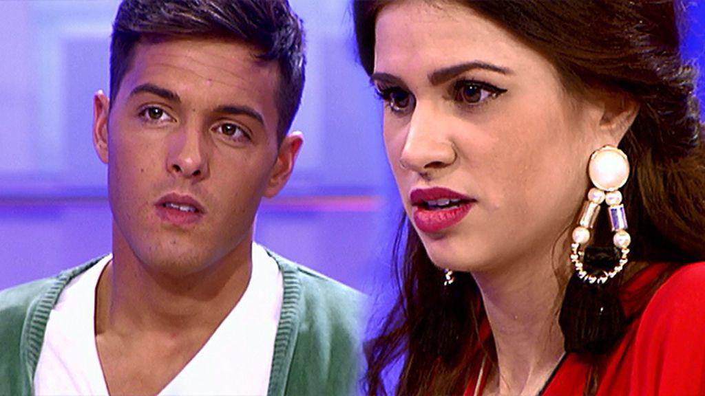 """Lukas, a Marina: """"No te quiero dejar mal, muchas gracias por venir"""""""
