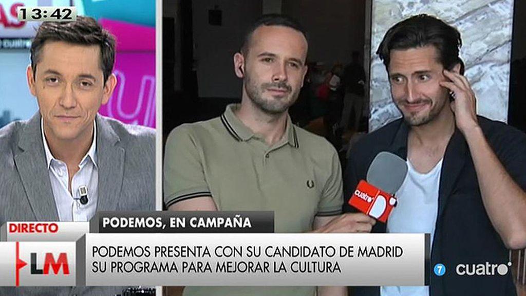 """Juan Diego Botto: """"El IVA cultural es una medida ineficaz, lo único que ha conseguido es desarticular tejido cultural"""""""