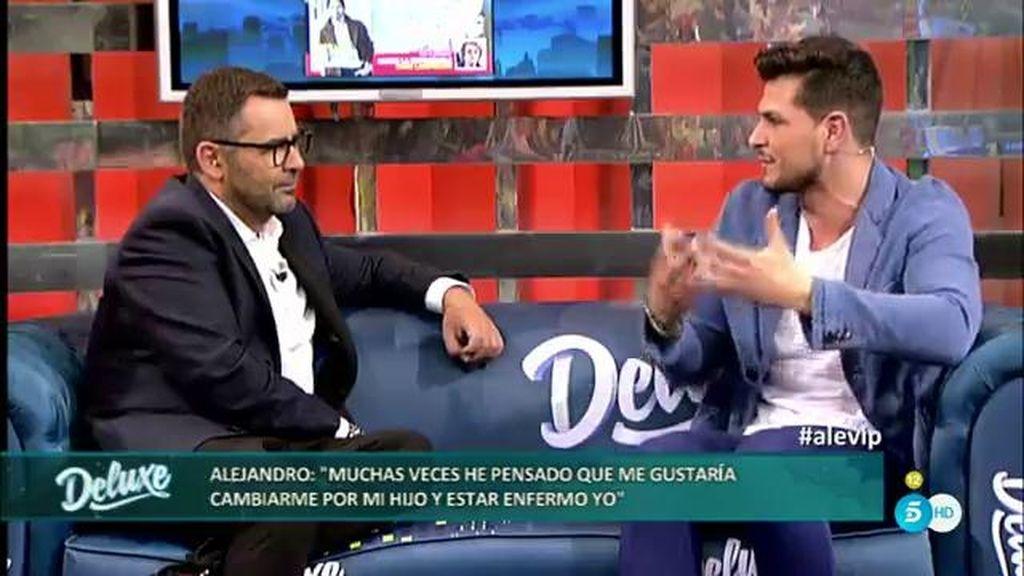 """Alejandro: """"Me gustaría cambiarme por mi hijo, estar enfermo yo y que él esté tranquilo"""""""