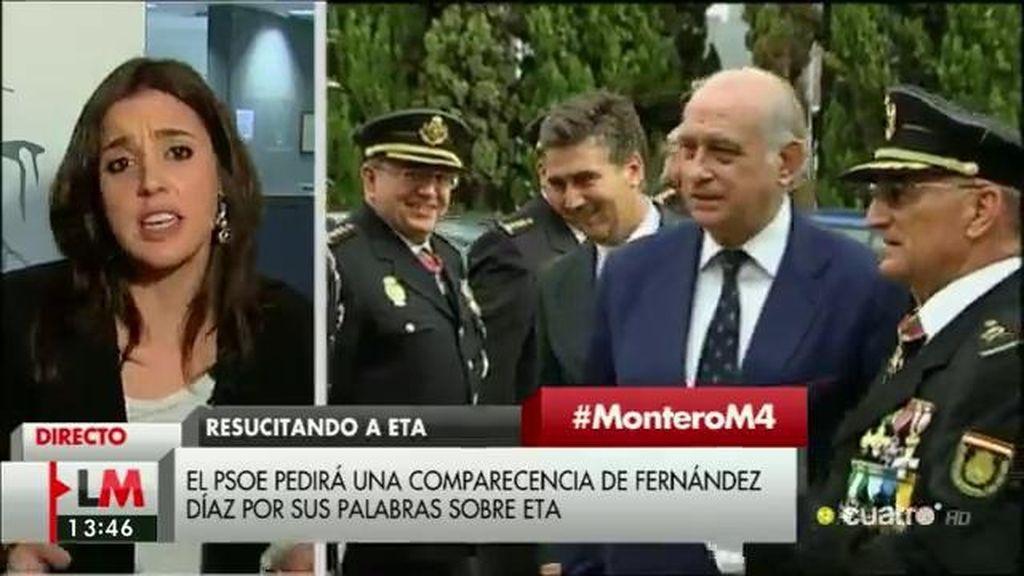 """Irene Montero: """"Es intolerable que ministros en funciones utilicen las instituciones como si fuesen su cortijo privado"""""""
