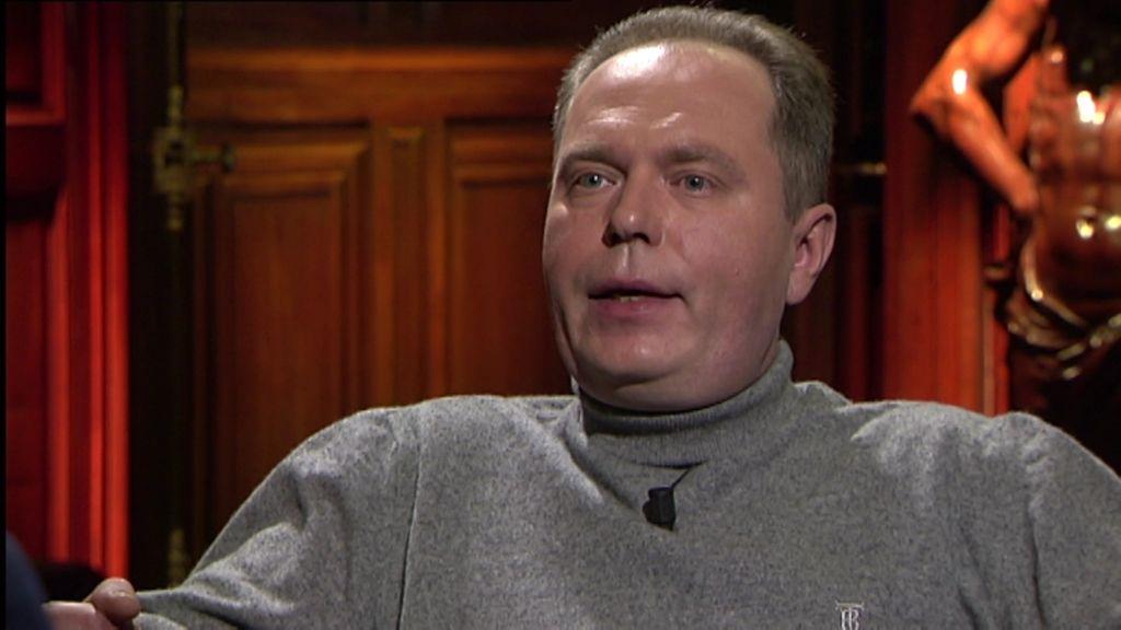 Robert Janczak cree que tiene un don para ver muertos