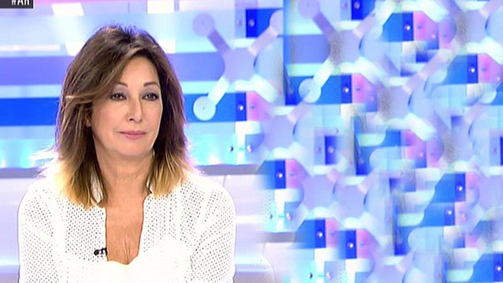 Ana Rosa, disgustada con la caída de Belén E. al escuchar la entrevista a Pedro