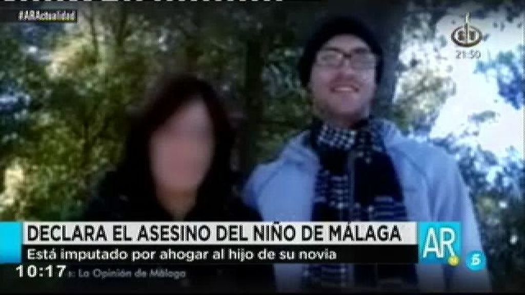 Declara por segunda vez ante el juez el asesino del niño de Málaga