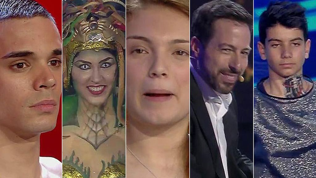 Ballet Kebanna, Alberto, David Tejada, Ariana y David Pereira, finalistas de 'Got Talent'