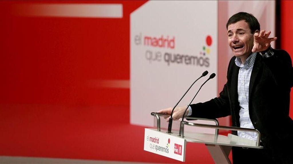 El líder del PSM y candidato a la Comunidad de Madrid, Tomás Gómez. EFE/Archivo