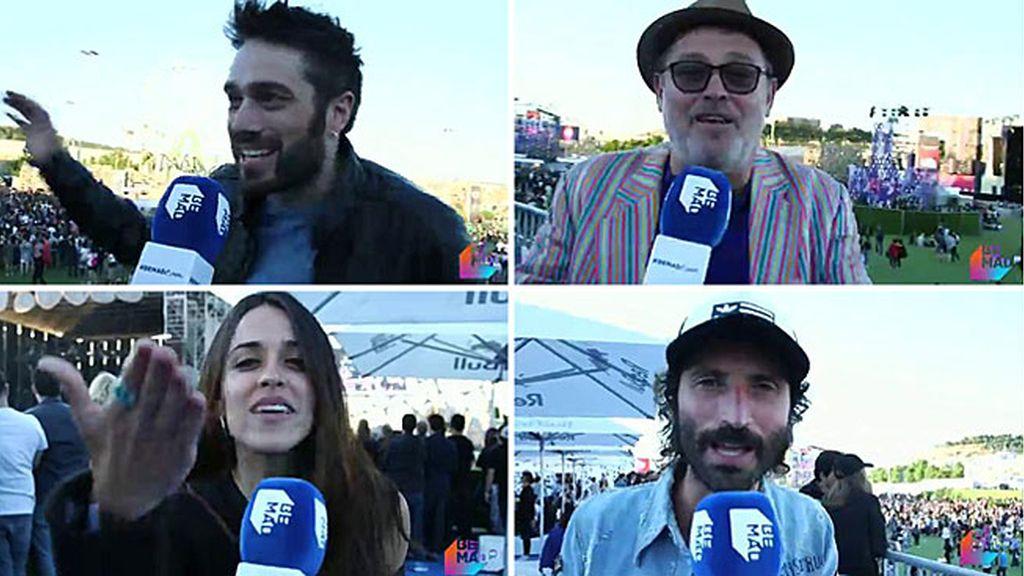 Macarena, Dani, Leiva... los famosos se lo han pasado en grande en el Mad Cool