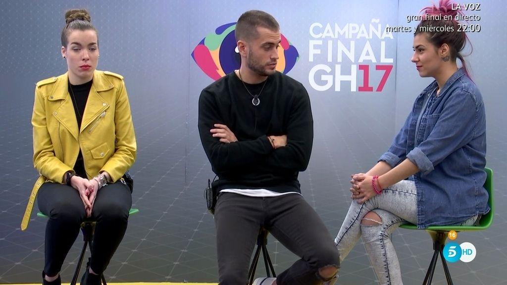 Así ha sido el debate a tres de los finalistas: ¿Quién ganará 'GH 17'?