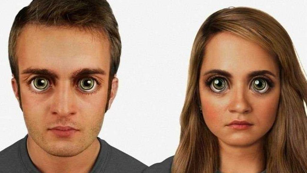 rostro humano, evolución cara humana, apariencia humana, hombre del futuro