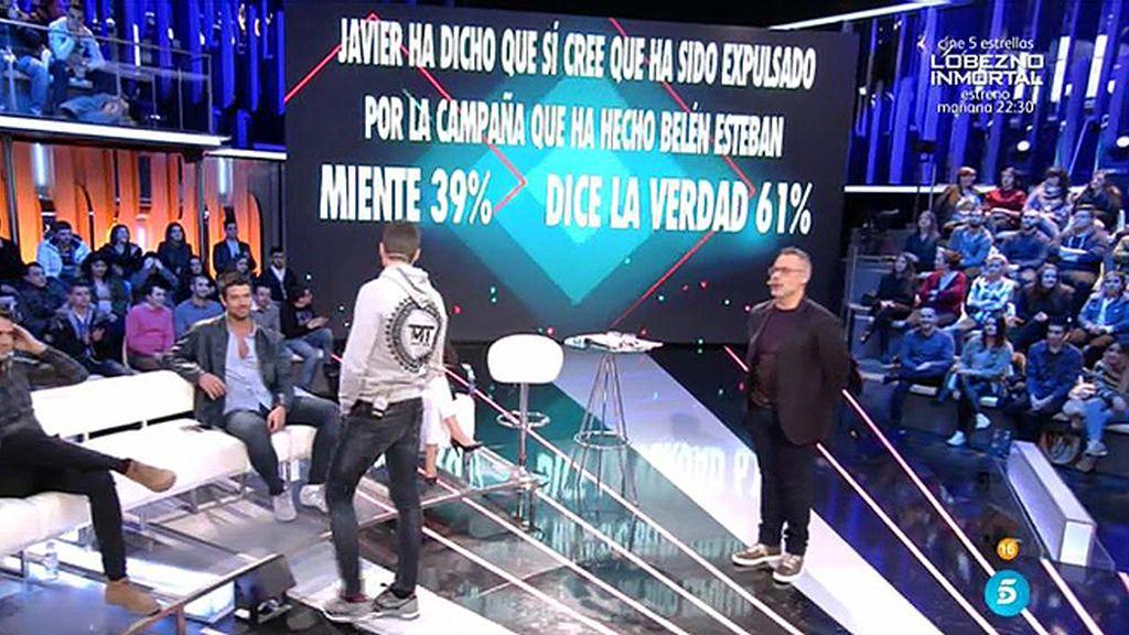 La audiencia cree que Belén Esteban ha hecho una campaña para expulsar a Javi