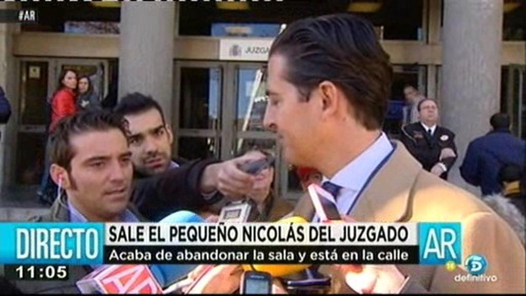 """El abogado del pequeño Nicolás: """"No hemos visto la querella del CNI"""""""