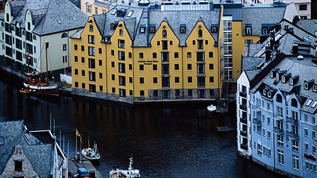 Alesund en Noruega