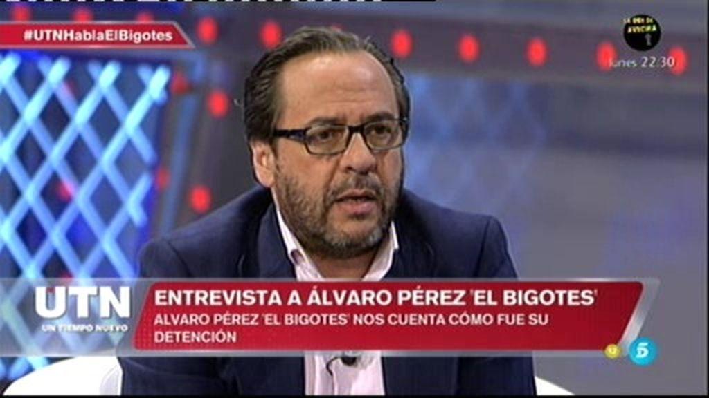 """La detención de Álvaro Pérez: """"Me dieron mantas llenas de vómito y otros fluídos"""""""