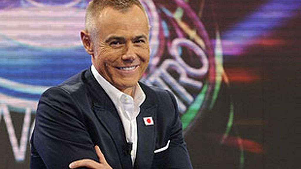 Jordi González, presentador de 'El Reencuentro'.