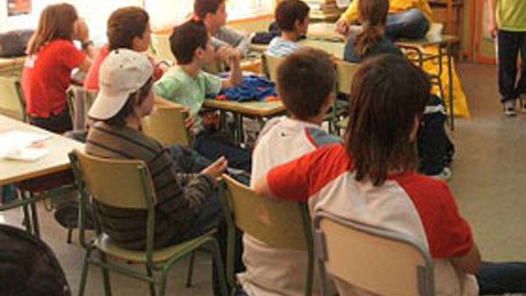 Crece el comportamiento violento en las aulas.