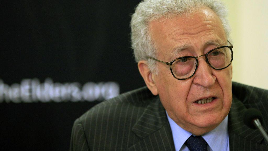 Lakhdar Brahimi. Enviado especial de Naciones Unidas a Siria. Foto: Reuters