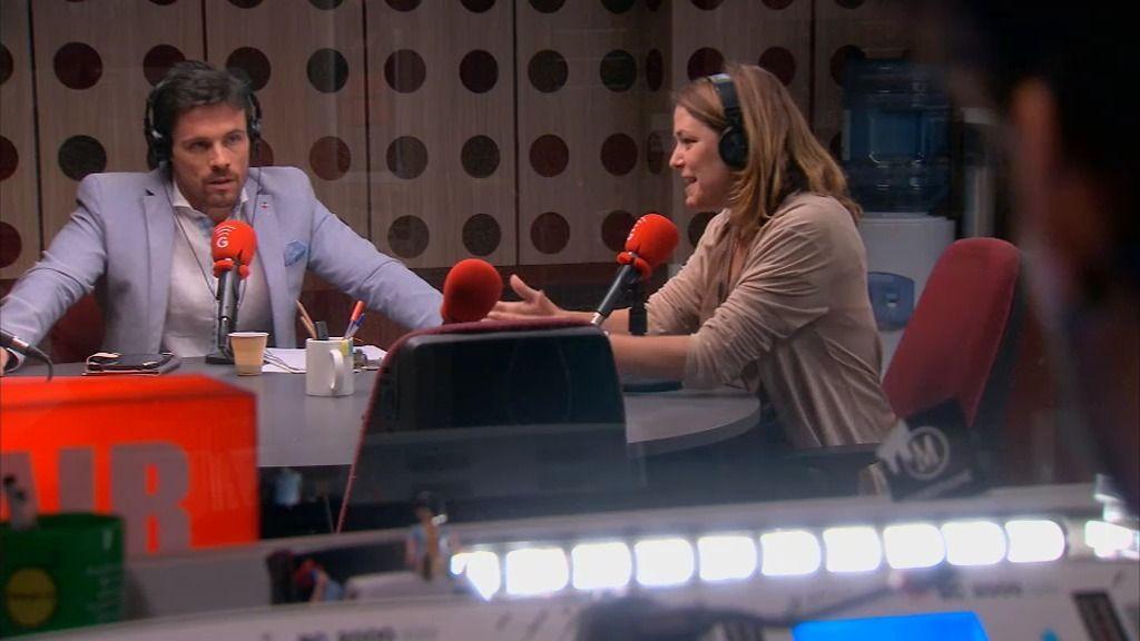 """Lucía le mete una puya a Carlos en MorninGlory: """"No seré su amiga nunca más"""""""