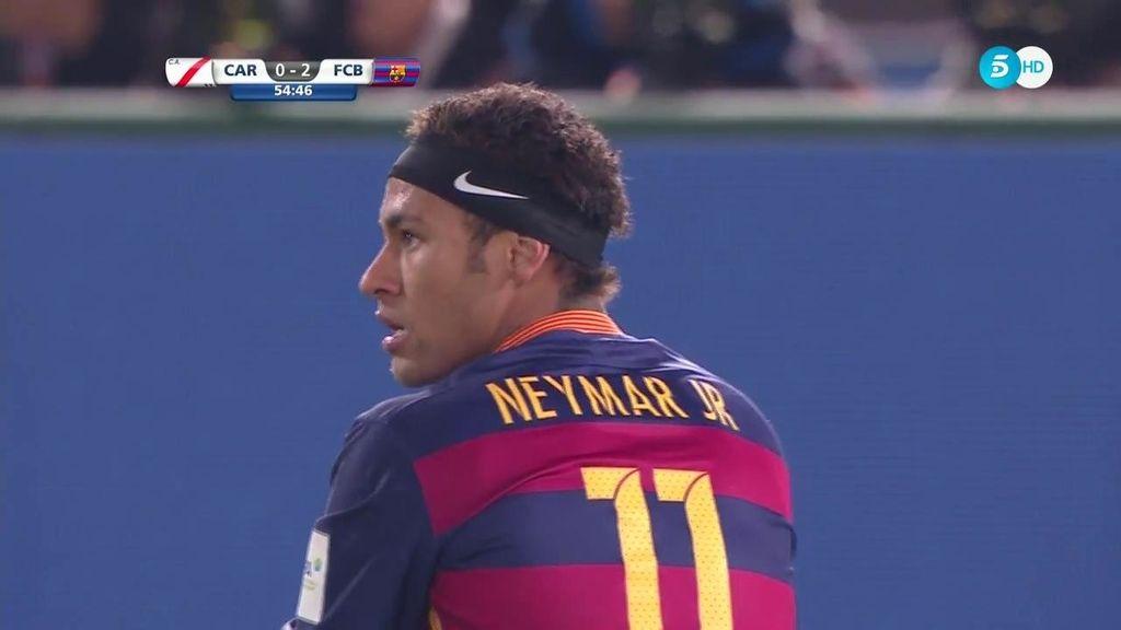 Neymar saca la magia y hace la jugada más espectacular del Mundialito