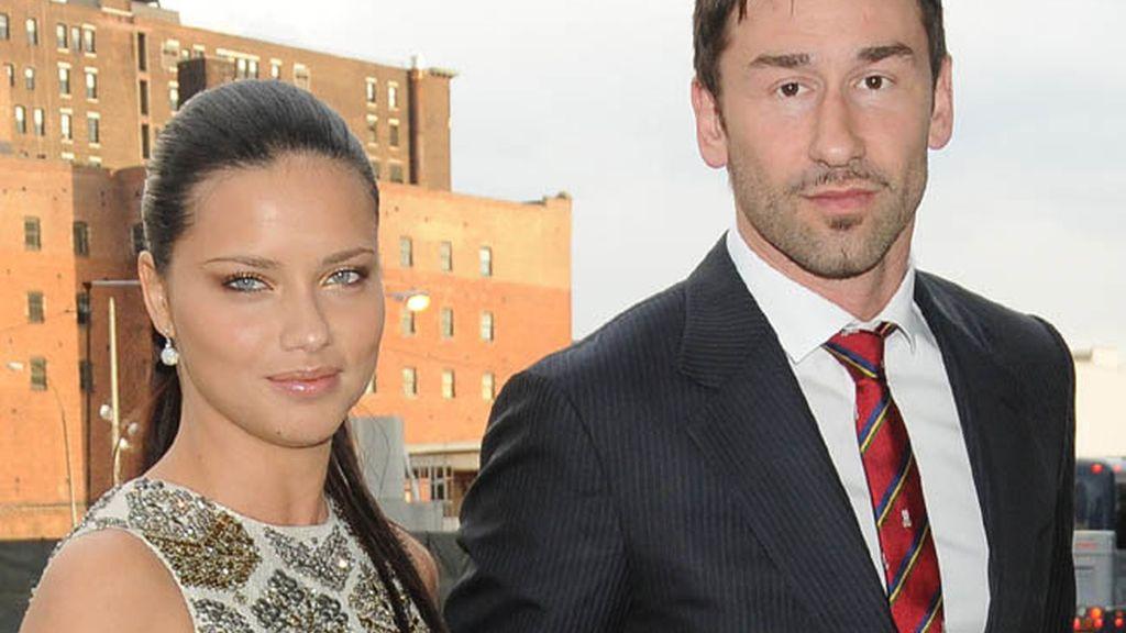 Adriana Lima y Marko Jaric
