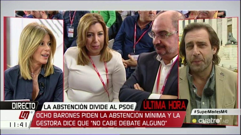 """Luis Arroyo: """"Me produce risa escuchar a Susana Díaz hablar de unidad"""""""