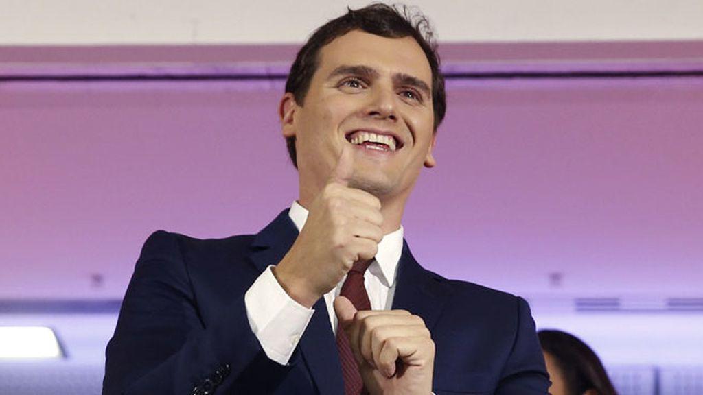 """Albert Rivera: """"Hoy España empieza una nueva era política"""""""