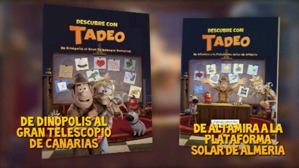Libro Descubre con Tadeo