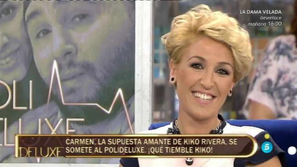 "Carmen: ""De Kiko Rivera me relajaban sus pelos en la espalda, hoy no me pone nada"""