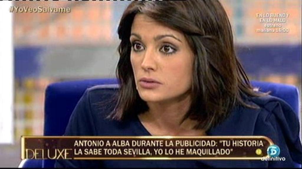 "Alba explota: ""Me niego a que se me deje como si estuviera de despiporre"""