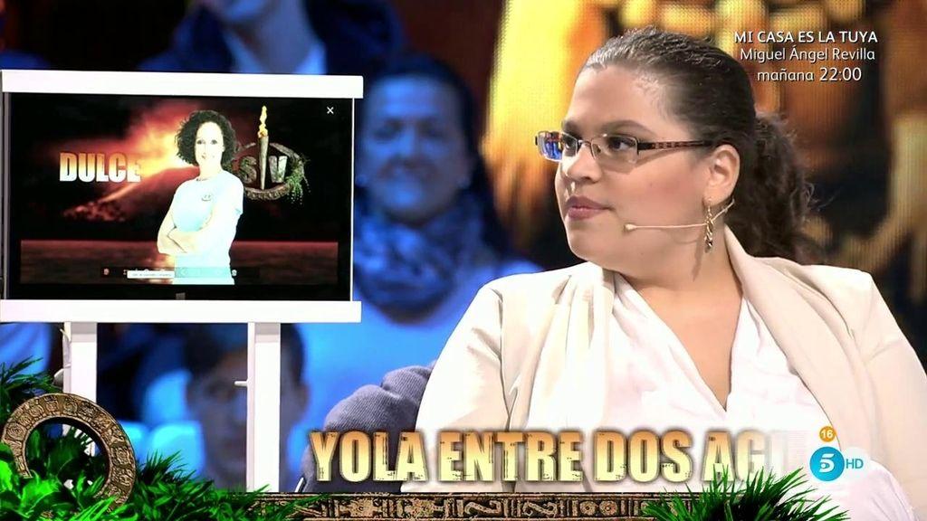 """Maca: """"Me gustaría que Dulce no hablara de Cantora por su imagen"""""""