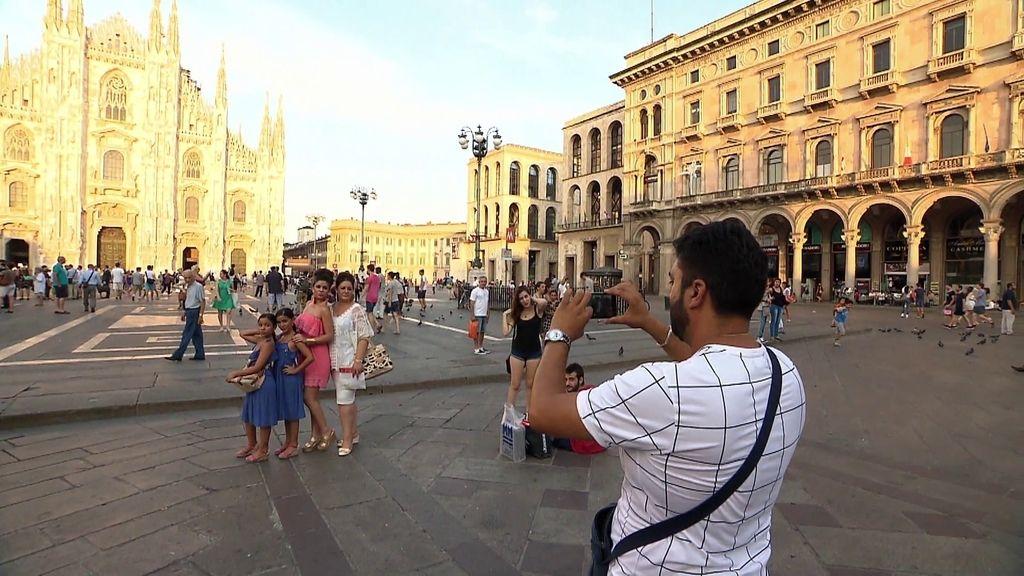"""La Rebe, en Milán: """"Aquí no hay la Torre Eiffel pero en pequeña?"""""""
