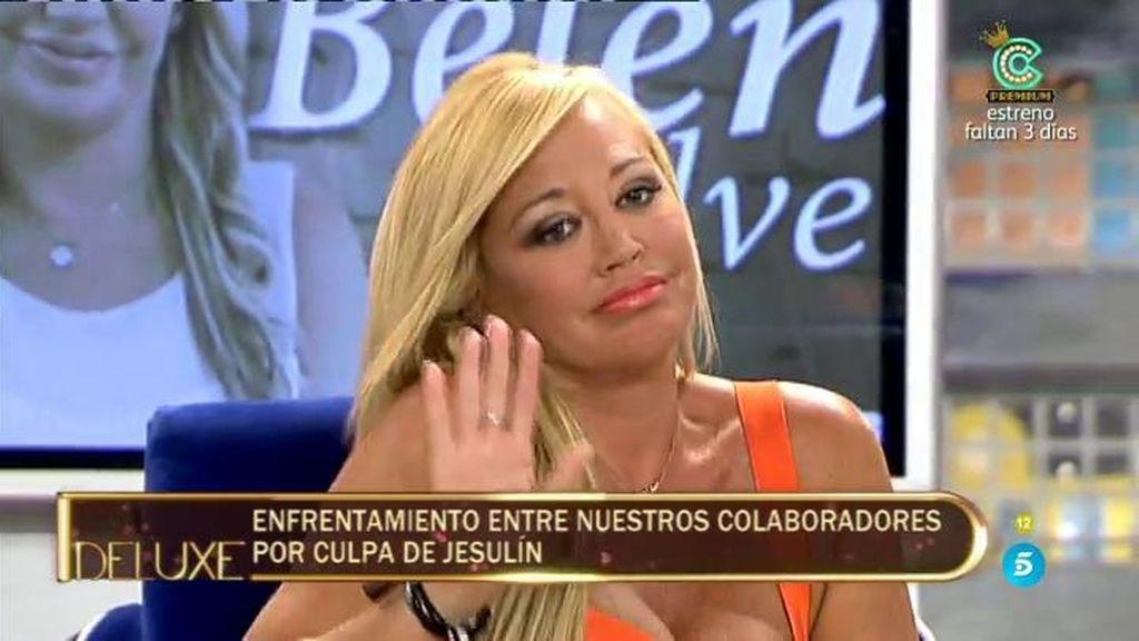 """Belén Esteban: """"Haré todo lo posible para que mi hija tenga una relación con Jesulín"""""""