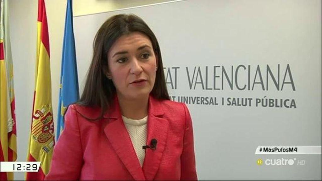 "Carmen Montón: ""Hemos encontrado unos 25 millones de euros en facturas que se han pagado de forma irregular"""
