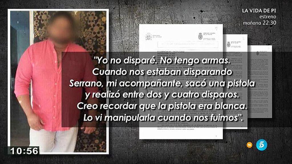La declaración del principal sospecho del tiroteo en El Puche, en exclusiva