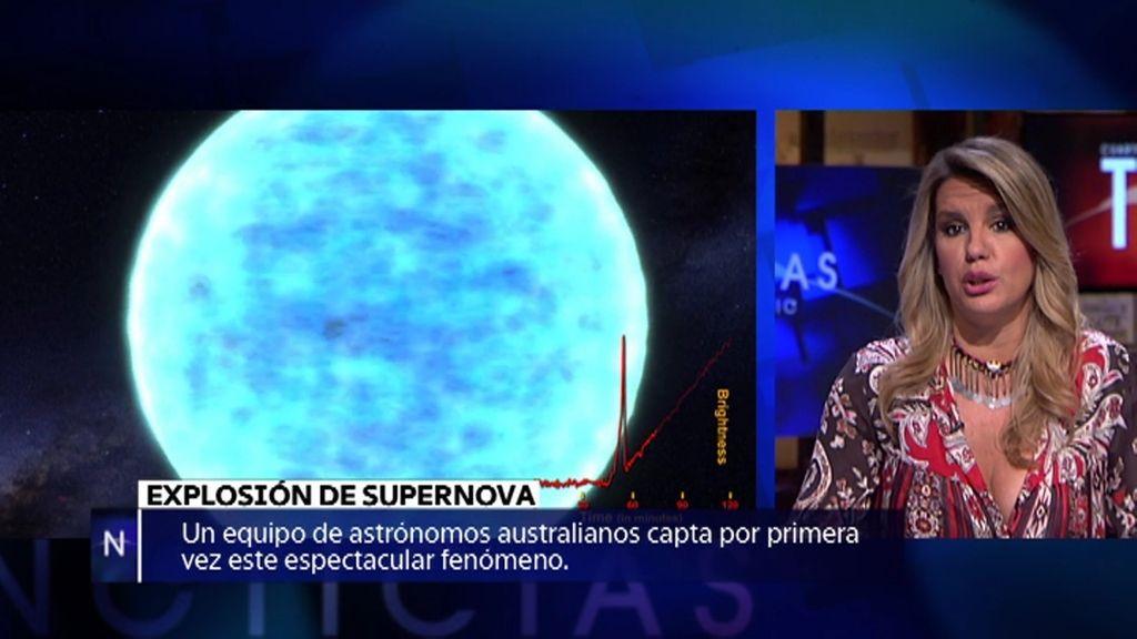 La explosión de Supernova, nuevas especies marinas o el arte de Van Gogh…