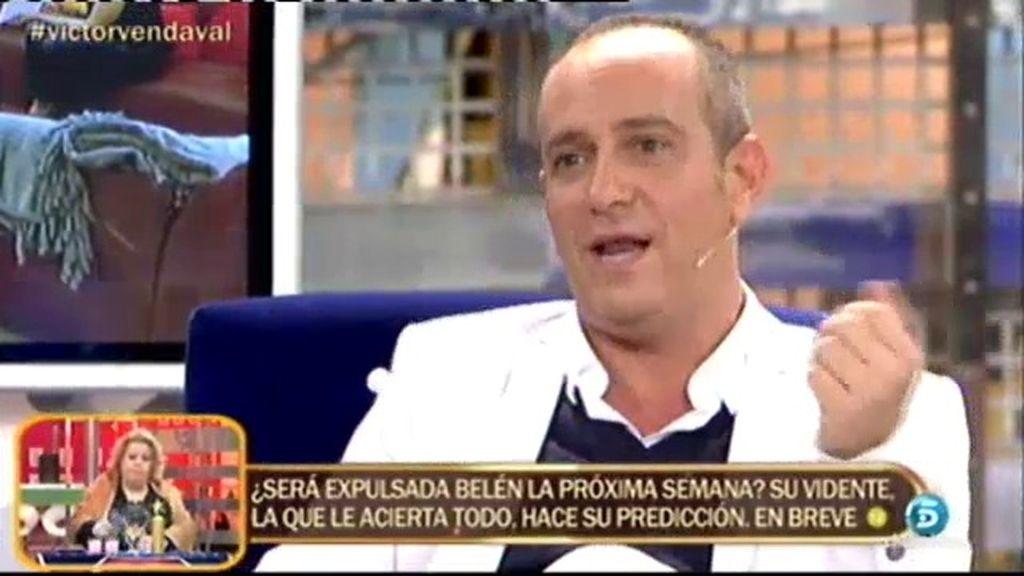 """Víctor Sandoval: """"Escuché hablar a Ylenia de las medidas de Fede"""""""