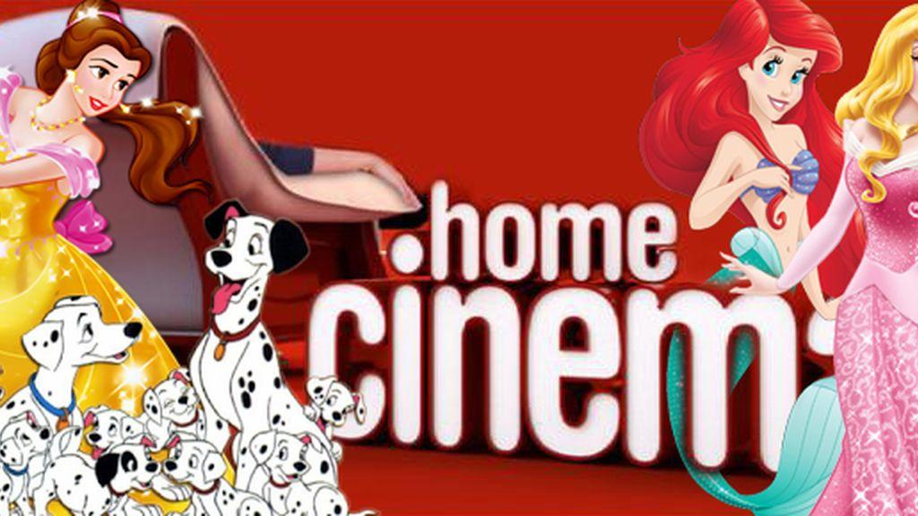 Princesas Disney Home Cinema